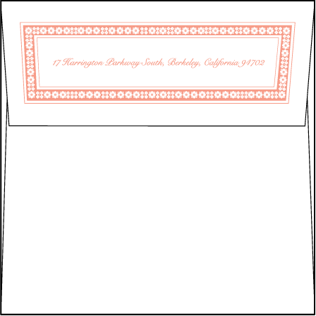 Maja Letterpress Envelope Design Medium