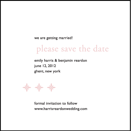 Majorca Letterpress Save The Date Design Medium