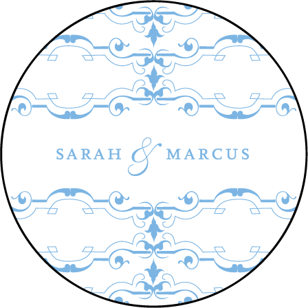 Marais Letterpress Coaster Design Medium