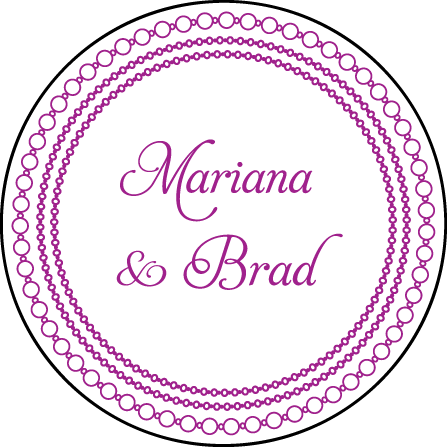 Mariana Vintage Letterpress Coaster Design Medium