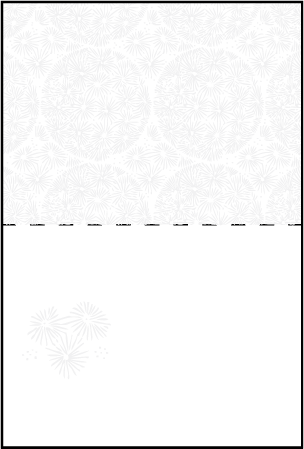 Meadow Letterpress Placecard Fold Design Medium