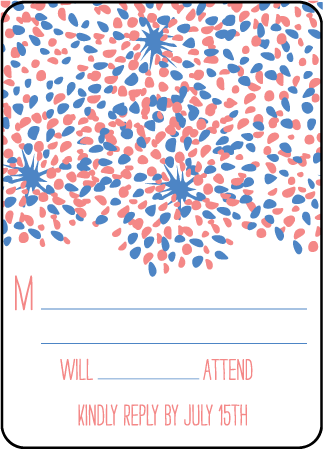 Modern Fete Letterpress Reply Design Medium