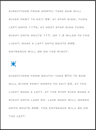 Modern Starlight Letterpress Direction Design Medium