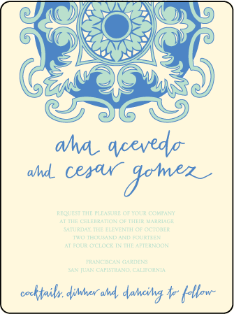 Modern World Letterpress Invitation Design Medium