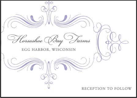 Nantucket Letterpress Reception Design Medium