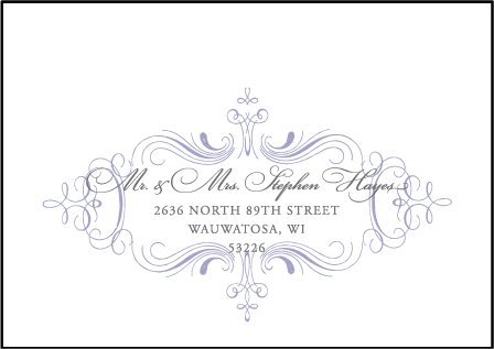 Nantucket Letterpress Reply Envelope Design Medium