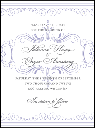 Nantucket Letterpress Save The Date Design Medium