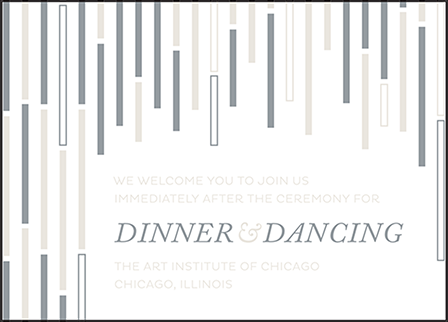 Neros Letterpress Reception Design Medium