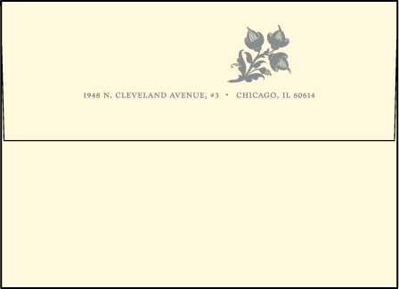 Nonpareil Letterpress Envelope Design Medium