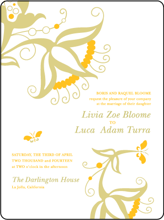 Nouvina Letterpress Invitation Design Medium