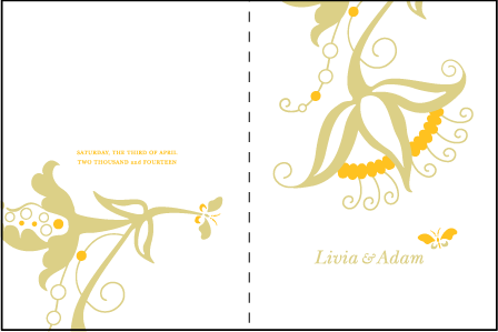 Nouvina Letterpress Program Design Medium