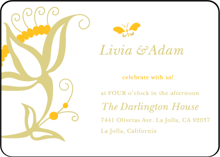 Nouvina Letterpress Reception Design Medium