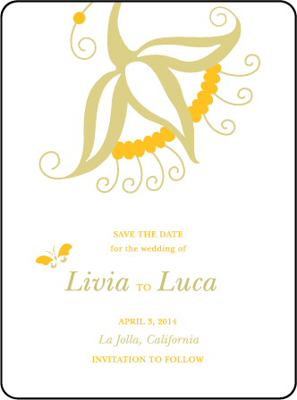 Nouvina Letterpress Save The Date Design Medium