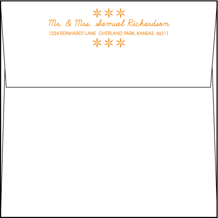 Ollie Letterpress Envelope Design Medium