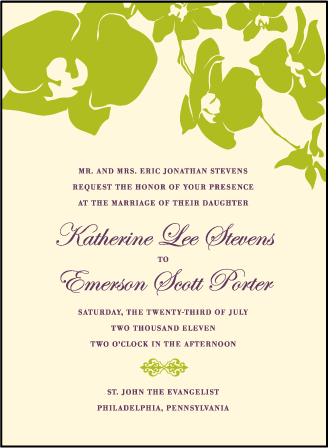 Paradise Letterpress Invitation Design Medium