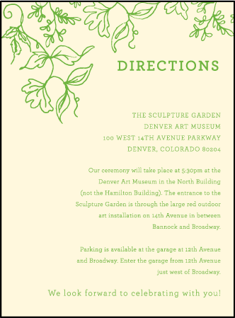 Pastoral Letterpress Direction Design Medium