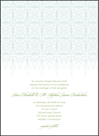 Petaline Letterpress Invitation Design Medium