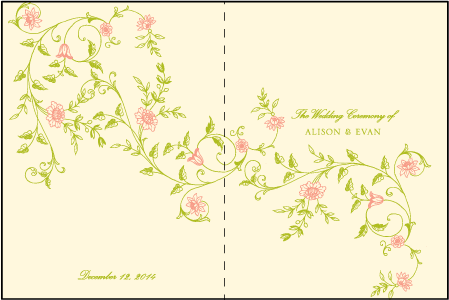 Printemps Letterpress Program Design Medium