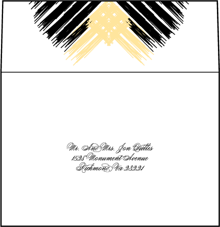 Promise Letterpress Reply Envelope Design Medium