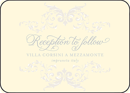 Ravenna Letterpress Reception Design Medium