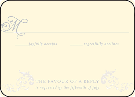 Ravenna Letterpress Reply Design Medium