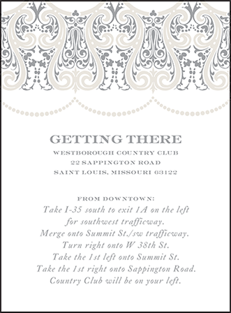 Royal Valance Letterpress Direction Design Medium