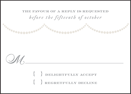 Royal Valance Letterpress Reply Design Medium