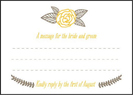 Rustic Jolene Letterpress Reply Design Medium