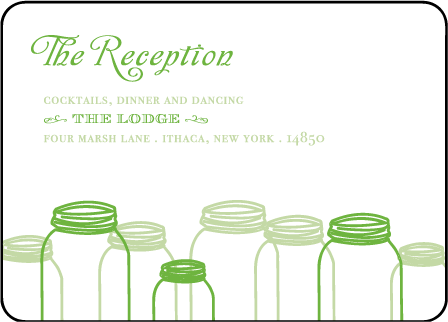 Rustic Summer Letterpress Reception Design Medium