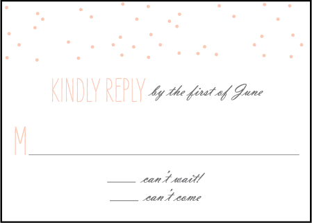 Simple Dot Letterpress Reply Design Medium