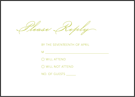 Simplicity Letterpress Reply Design Medium