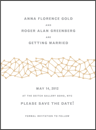 Soho Letterpress Save The Date Design Medium