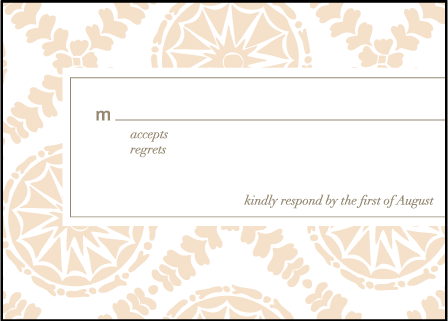 Solina Letterpress Reply Design Medium