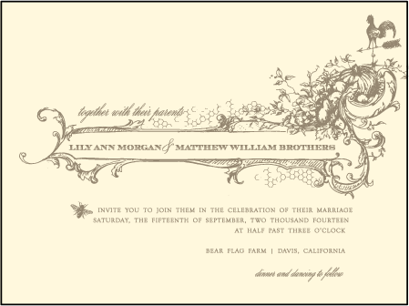 Splendor Letterpress Invitation Design Medium
