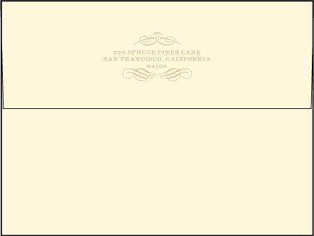 Studebaker Letterpress Envelope Design Medium