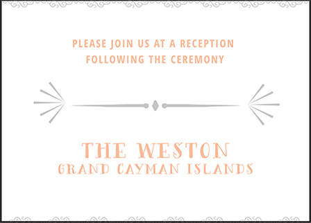 Surfside Letterpress Reception Design Medium