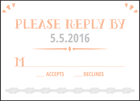 Surfside Letterpress Reply Design Medium