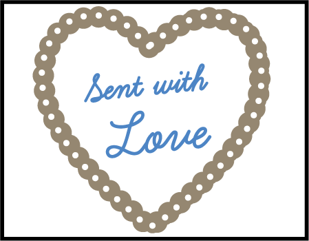 Sweet Heart Letterpress Stamp Design Medium