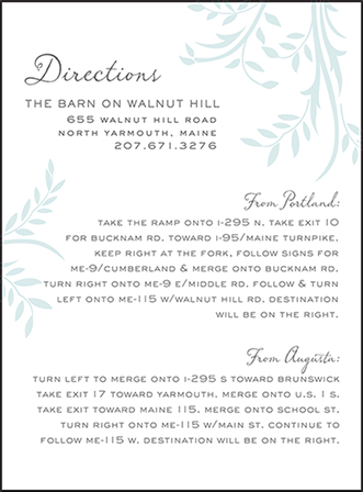 Sweet Laurel Letterpress Direction Design Medium