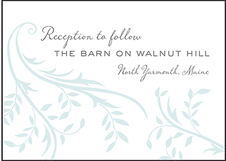 Sweet Laurel Letterpress Reception Design Medium