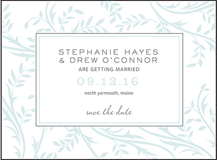 Sweet Laurel Letterpress Save The Date Design Medium