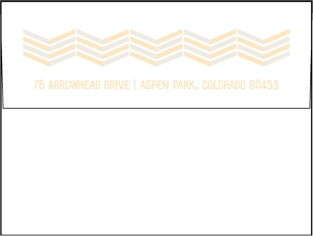 Sweet Lorna Letterpress Envelope Design Medium