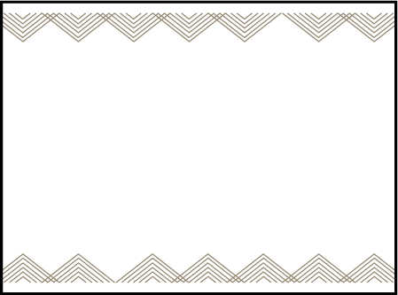 Tapestry Letterpress Placecard Flat Design Medium