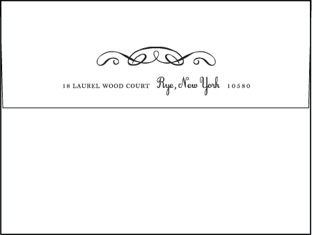 Tennyson Letterpress Envelope Design Medium