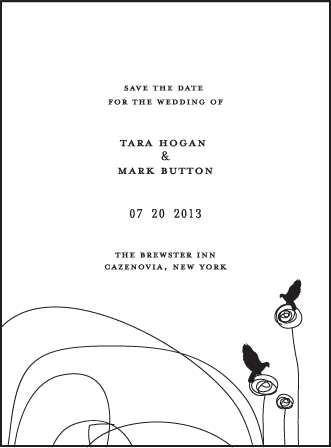 Urbanity Letterpress Save The Date Design Medium