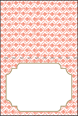 Ursula Letterpress Placecard Fold Design Medium