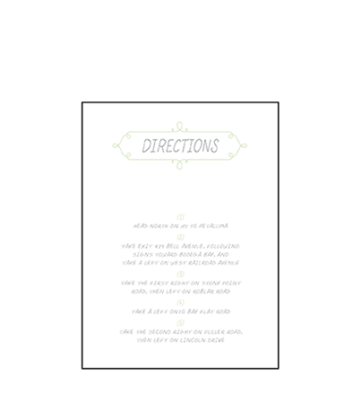 Vera Letterpress Direction Design Medium
