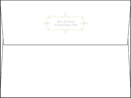 Vera Letterpress Envelope Design Medium