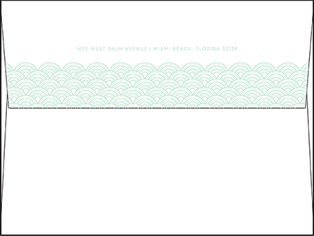 Viceroy Letterpress Envelope Design Medium