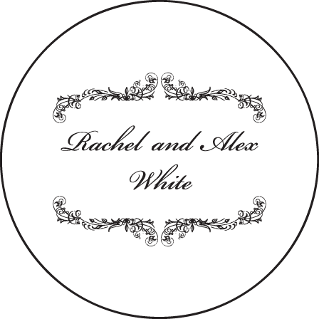 Viennese Waltz Letterpress Coaster Design Medium
